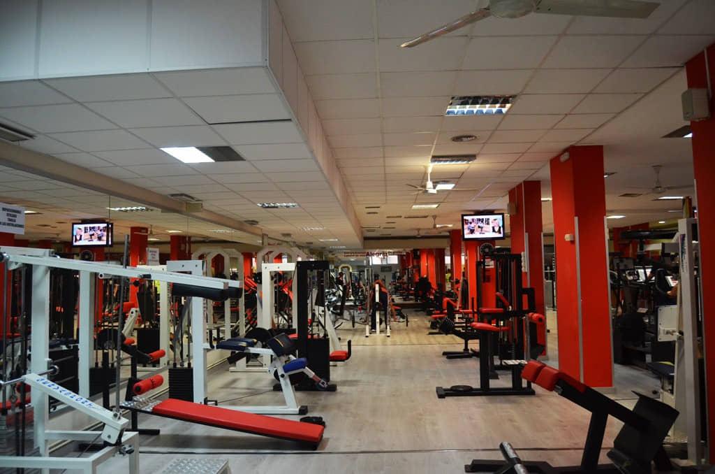 instalaciones gimnasio wellness en alcal de henares
